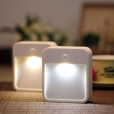 ARILUX® AL101N Battery Powered Wireless PIR Motion Sensor LED Night Light for Bedroom Stair Hallway